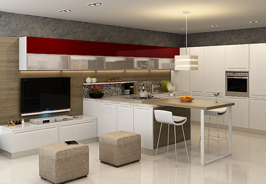 KITCHENS. Modular Kitchens  Wardrobes  Living Room  Bedroom Interior