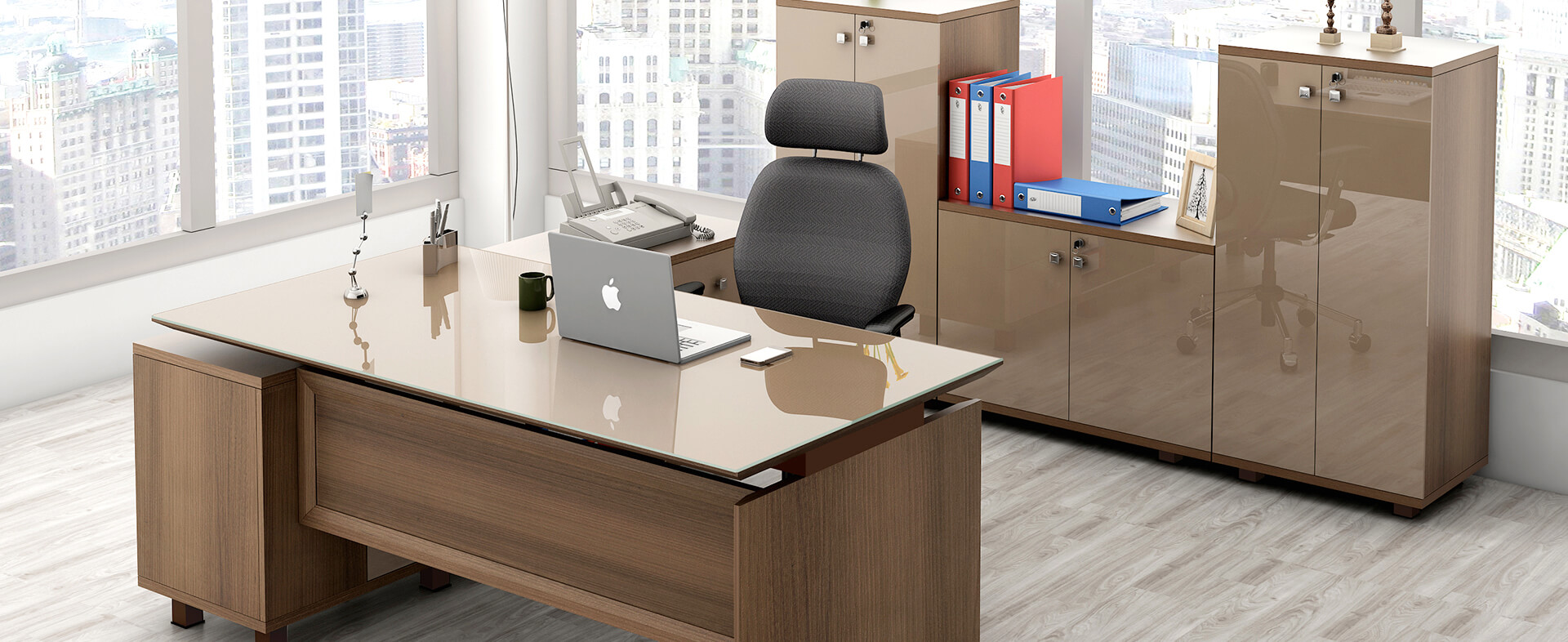 Sophistication At Work : Spacewood Office Furniture.
